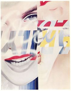 James Rosenquist •Marilyn Monroe, 1 1962•Pop Art•Hollywood Icon•Art POSTCARD