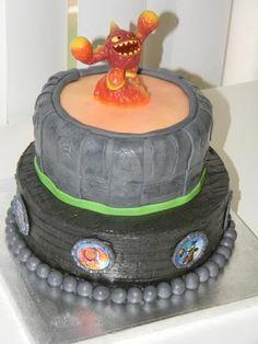 Skylander Cake topper cake Pinterest Cakes and Cake toppers