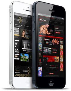 Mobile Website Design.