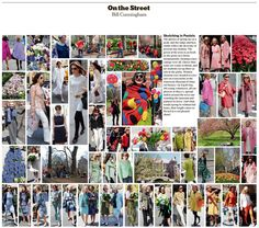 Bill Cunningham | Sketching in Pastels - NYTimes.com