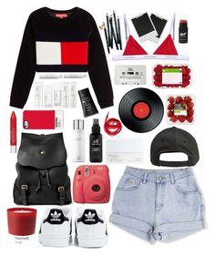 """Pantone"" by justina-pereyra on Polyvore featuring moda, Dsquared2, adidas, Billabong, Pantone, Bill Amberg, NARS Cosmetics, Fujifilm, Hermès y e.l.f."