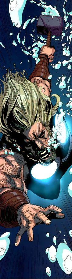 Ultimate Thor by Leinil F Yu #marvel