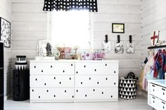 diy idea: tape on ikea malm drawer