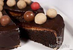 Csokoládétorta gesztenyekrémmel