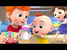 Puedo Cuidar al Bebé | Canciones Infantiles - BabyBus - YouTube Kids Video Songs, Rhymes Video, Songs For Toddlers, Kids Videos, Nursery Rhymes In English, Best Nursery Rhymes, Nursery Songs, Lullaby Songs, Baby Songs