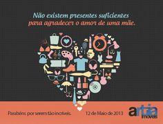 Dia das Mães - Artia Imóveis  http://www.artiaimoveis.com.br
