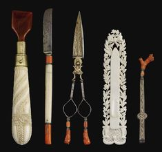 an Ottoman Calligrapher's tools, 19th century