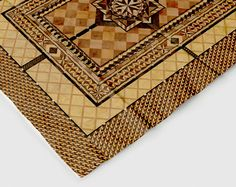 marquetry tablecloth by Atypyk