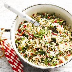 Food: Eleven Healthy Brown Rice Recipes  (via Herbed brown rice salad recipe via Chatelaine)