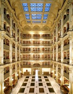 Peabody Library, MD