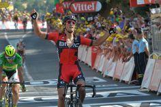 Greg Van Avermaet. Stage 13 winner.  Muret to Rodez.