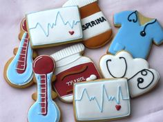 galletas decoradas de medicos
