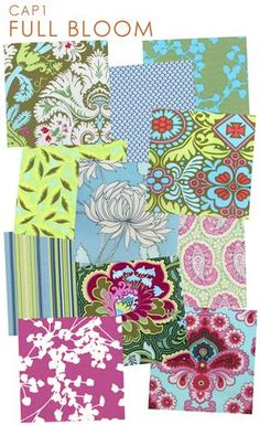 """Amy Butler is my favorite fabric designer by far. I would """"pin"""" 70% of her designs... so I restrained myself to 1."""