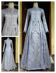 Model Dress Kebaya, Kebaya Modern Dress, Hijab Evening Dress, Hijab Dress Party, Dress Brukat, Batik Dress, Abaya Fashion, Women's Fashion Dresses, Modest Dresses