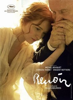 Renoir (Gilles Bourdos), I saw this last night with my guy. Just a beautiful movie about the impressionist painter Renoir and his beautiful young muse. Beau Film, 10 Film, Film Movie, Movies To Watch, Good Movies, Girly Movies, Art Movies, Michel Bouquet, Thomas Bernhard