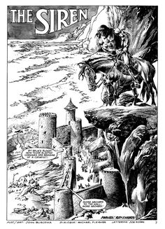 John Buscema, Conan portfolio and original art. Philippine Art, John Buscema, Western Comics, Conan The Barbarian, Sword And Sorcery, Black White Art, Comic Books Art, Book Art, Ink Illustrations