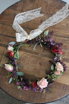 Wildflower Flower Crown www.thecrowncollective.co