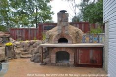 Fireplace with Retaining Wall is something you think was just for fun but really it is practical too!