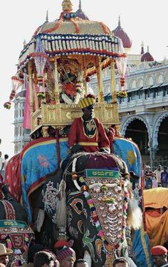 The State government on Tuesday defended before the Karnataka High Court its decision to reject the elephant task force's recommendation to either reduce the weight of the golden howdah used during th Mysore Dasara, Mysore Palace, Sri Lanka, Nepal, Children In Africa, Travel Sights, Indian Colours, History Of India, Visit India