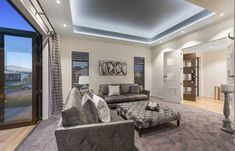 ze huus-landmark homes-Orini Design Showhome Idea Portal, Building Companies, New Builds, Home Renovation, Exterior Design, Architecture Design, New Homes, Lounge, House Design