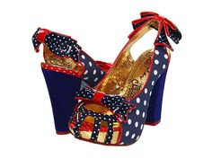 Irregular Choice Aphrodite  If these came in my size I would wear them every freakin' day!!