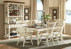 Lorna's classic dining collection in country style dining room