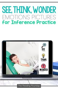 Are you looking for engaging reading activities to use with your students? Do your students struggle with actively thinking about the text as they read? These engaging digital reading activities using the See, Think, Wonder strategy are guaranteed to be effective with your elementary students. The images help students practice reading comprehension strategies such as making inferences, predictions, and connections. An engaging and fun way to improve students' critical thinking skills! Inference Activities, Reading Activities, See Think Wonder, Inference Pictures, Reading Comprehension Strategies, Making Inferences, Critical Thinking Skills, Distance, Students