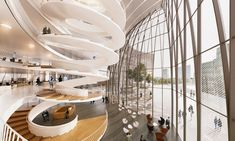 3XN le monde headquarters paris proposal designboom
