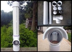 Great little DIY project: How to make a PVC chicken feeder - http://SurvivalistDaily.com/how-to-make-a-pvc-chicken-feeder/
