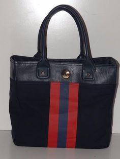 Tommy Hilfiger Women's Navy/Red Large Tote/Handbag/Purse/Shoulderbag  NWT #TommyHilfiger #TotesShoppers