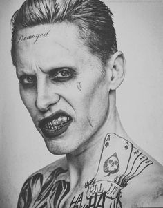 Find images and videos about jared leto, joker and harley quinn on We Heart It - the app to get lost in what you love. Joker Cosplay, Suiside Squad, Joker Kunst, Joker Y Harley Quinn, Es Der Clown, Joker Art, Marvel Dc Comics, Marvel Avengers, Jokers