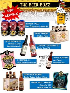 New October Beer Arrival at Taylor's Wine Shop!