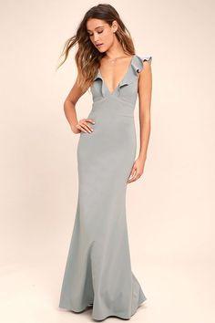 5da1a7ddc39 Perfect Opportunity Grey Maxi Dress