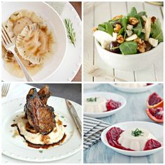 The Kitchen McCabe: HOW TO MAKE A 4-COURSE RESTAURANT QUALITY MEAL AT HOME~WITH EASE!