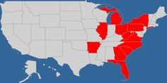 I've been to 24% of the states.