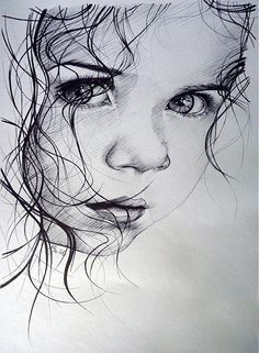 Secrets Of Drawing Realistic Pencil Portraits - Guilty - print by illya - SAShE.sk - Handmade Kresby Secrets Of Drawing Realistic Pencil Portraits - Discover The Secrets Of Drawing Realistic Pencil Portraits Realistic Drawings, Art Drawings Sketches, Hipster Drawings, Horse Drawings, Couple Drawings, Animal Drawings, Portrait Au Crayon, Girl Sketch, Baby Sketch