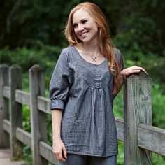 Esme Top: Sew Liberated Patterns: Improving Beginner Sewing and Dressmaking.