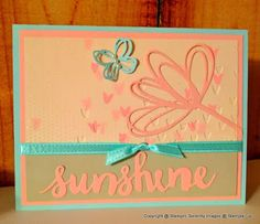 Stamping Serenity: Sunshine Wishes For #GDP078