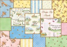 Clothworks Guess How Much I Love You Fat Quarter by donellefritz, $42.73