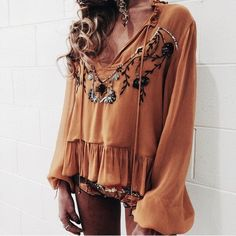 perfect little boho summer look