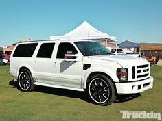 2012 Ford Excursion Conversion  Big Toys  Pinterest  Trucks