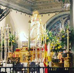 #virgendelrocio #souvenirs #elrocio #regalos #rocieros #pulseras #colgantes #llaveros #imanes #abanicos #almonte #huelva #españa Almonte, Virgen De Guadalupe, Magnets, Hand Fans, Key Fobs, Pendants