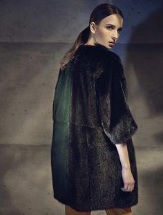 cabb45898fe A Fendi Fall Winter 2014-15 coat Fendi Fur