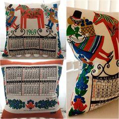 Calendar cushion 1969