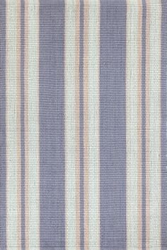 Dash & Albert | Clarence Indoor/Outdoor Rug | With its laid-back luxe look and soothing blue and pink tones, this eco-friendly, indoor/outdoor rug is perfect for the porch, the patio, the parlor, and everywhere in between.