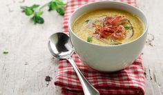 Cantaloupe Gazpacho with Split Red Lentils | Lentils For Every Season Volume 11 Garden to Table | Lentils.ca