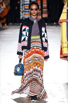 Sfilata Stella Jean Milano - Collezioni Autunno Inverno 2016-17 - Vogue