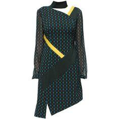 LATTORI Chic Chiffon Dress