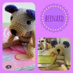 """Lazy Daisy Jones crochet """"bernard"""" a bear from mollie makes issue 35...details http://lazydaisyjones.blogspot.co.uk/"""