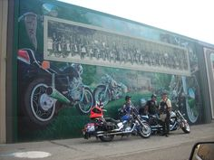 PMC Motorcycle Club. The guys in photo were glad to be part of my picture as they are members.